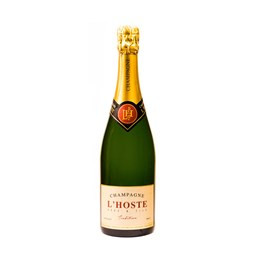 CHAMPAGNE LHOSTE BRUT TRADITION